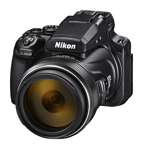 Nikon Coolpix P1000 - Cámara Bridge, Zoom óptico 125x, vídeo 4K/UHD, Bluetooth, Wi-Fi, Color Negro