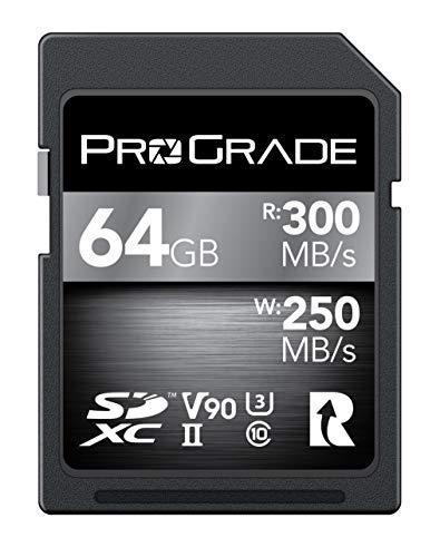 ProGrade Digital (プログレードデジタル) SDXC UHS-II V90 COBALT 300R メモリーカード 正規輸入品 (128GB)