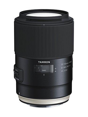 TAMRON 単焦点マクロレンズ SP90mm F2.8 Di MACRO 1:1 VC USD キヤノン用 フルサイズ対応 F017E【シフトブレ対応】