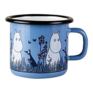 "Combining design with durability in this retro mug Features Moomin from the beloved Finnish fairytale Moomin series Approximate SIze: 9cm (dia) x 7cm(h)/3.5"" x 2.75"" Dishwasher safe"