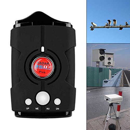 Maso, rilevatore di velocità, GPS/radar/laser, rilevatore di velocità a 360 gradi, 16 bande V8, sicuro per la polizia, con allarme vocale, laser