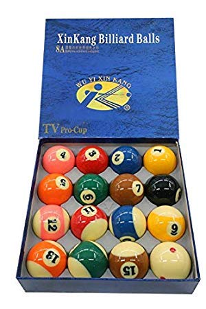 CLUB 147 Xing Kang American Pool Ball Set (8A) (Set of 16 Balls)