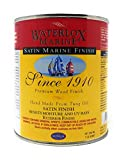 Waterlox TB6032 QT Satin Marine Finish, Clear