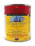 Waterlox Satin Marine Finish- Quart