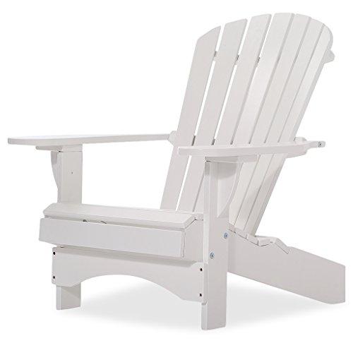 Original Dream-Chairs since 2007 Adirondack Chair Comfort de Luxe in weiß