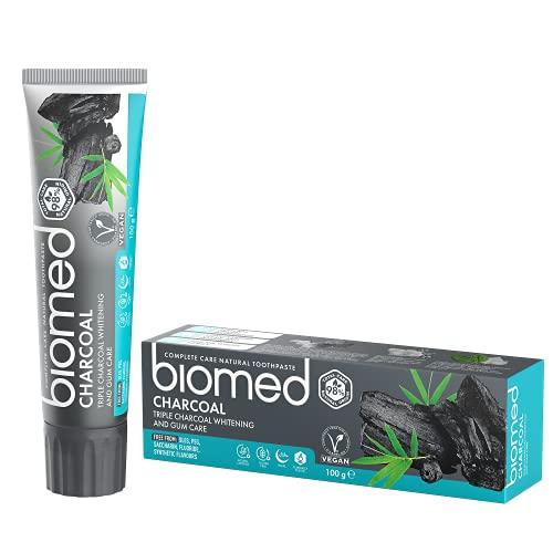 BIOMED Charcoal pasta de dientes 100 Gr