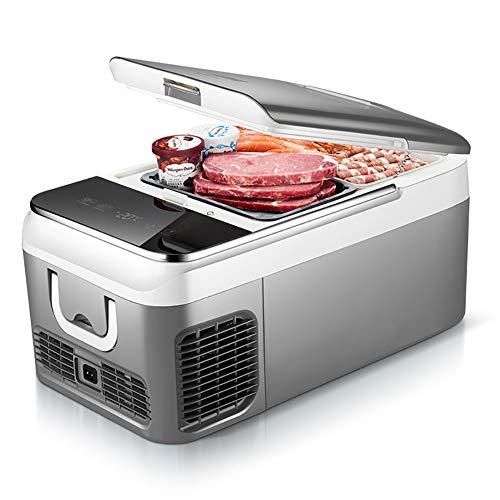 Mini frigorifero per camera da letto Touch screen portatile 12 V / 24 V / 220 V Mini frigorifero...