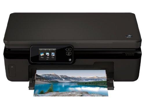 HP Photosmart 5522 4800 x 1200DPI Tintenstrahl A4 11Seiten pro Minute WLAN - Multifunktionsgeräte (Tintenstrahl, Farbdruck, 4800 x 1200 DPI, 80 Blätter, A4, Schwarz)