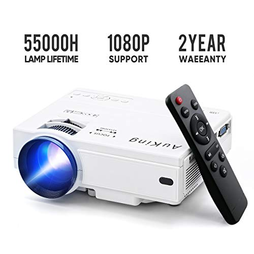AuKing Mini Projector 2019 Upgraded