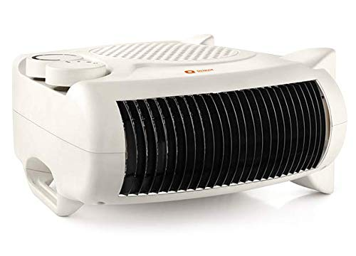 Orient Electric Areva FH20WP 2000/1000 Watts Fan Room Heater with Adjustable Thermostat (White)