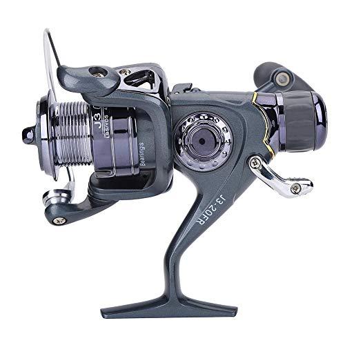 needlid Mulinello da Spinning alla Carpa Resistente alla corrosione, Mulinello da Pesca, per Attrezzatura da Pesca alla Carpa(20FR)