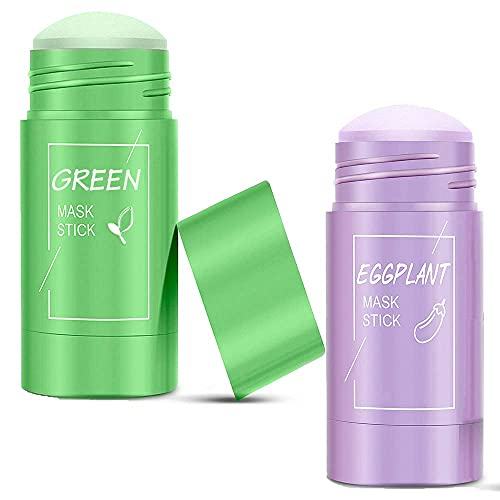 Green Tea Purifying Clay Stick Mask Eggplant Solid...