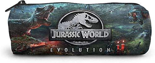 astucci e set per la scuola Jurassic-World Unisex Student Pencil Case Pen Box Zippered Stationery...