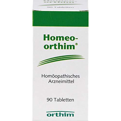 Homeo-orthim Tabletten bei Erkrankungen des Herz-Kreislauf-Systems, 90 St. Tabletten