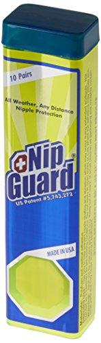 Ronhill Nip Guards Pezoneras, Unisex Adulto, White, O/S