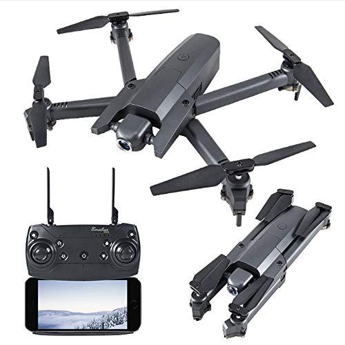 Rian City 2019 Drone Aerea, 4k Intelligente Segui Long Endurance Flusso HD Ottico Quadcopter Pieghevole a Distanza dei velivoli di Controllo Adatto a Principianti