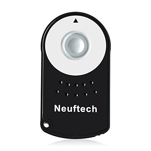 Neuftech - Telecomando Wireless a infrarossi per Canon RC-6, Canon 600D EOS 5D Mark II, EOS 7D, EOS...