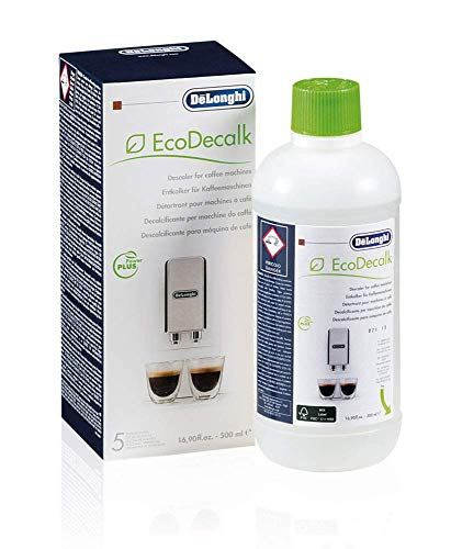 De'Longhi DLSC500 ECODECALK Decalcificante Macchine Caffè Ecologico, Ingredienti da Materie Prime...