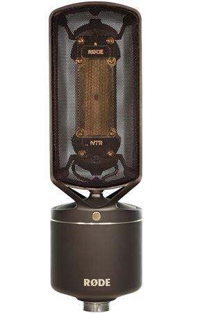 Rode NTR Studio Mikrofon Active Tape, schwarz/anthrazit
