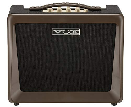 VOX VX50-AG 50W Compact Acoustic Guitar Amplifier with NuTube Vacuum Tube