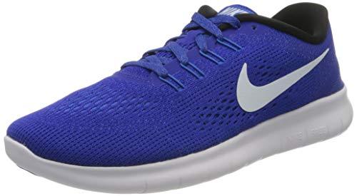 Nike Damen Free RN Laufschuhe, Blau (Concord blau/Weiß/Hyper Cobalt/schwarz), 40 EU