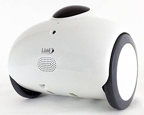 LKM Security Robot Hero LKM-HEROB Drone per la Videosorveglianza HD, Bianco, Moderno