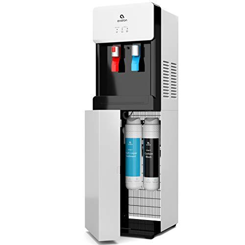 Avalon A7BOTTLELESS Self Cleaning Touchless Bottleless Cooler Dispenser-Hot & Cold Water Child Safety Lock, UL/Energy Star, White