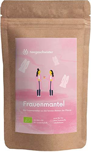 teegeschwister® | BIO Frauenmanteltee | gehobene Qualität aus der EU | frei von Zusätzen und Aromastoffen | geeignet vor der Schwangerschaft | 80g