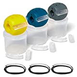 Mcintin Jaw Exerciser -Jawline Exerciser For Men-Jaw Exerciser for Women-30, 40, 50lb,Face Exerciser for Jaw Line, Face Toning Equipment- Natural Facelift- Double Chin Eliminator - Jaw Exercise Ball