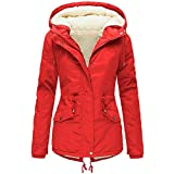 Longra_Clothing Abrigo para Mujer CláSico Cuello Redondo Espesar Abajo Chaqueta Mujer OtoñO Y Invierno BotóN SuéTer Pullover Outwear