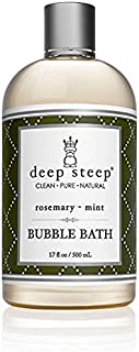 Deep Steep Rosemary Mint Bubble Bath – 17 Fluid Ounces