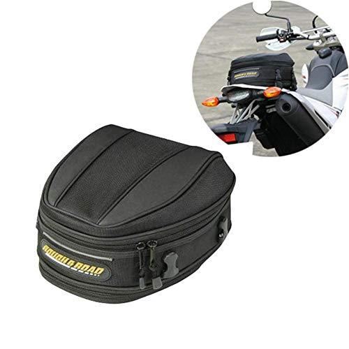knowledgi Motorrad hintere Tasche Satteltasche- wasserdichte Motorrad Hecktasche hintere Sitztasche mit großer Kapazität Motorrad Tasche