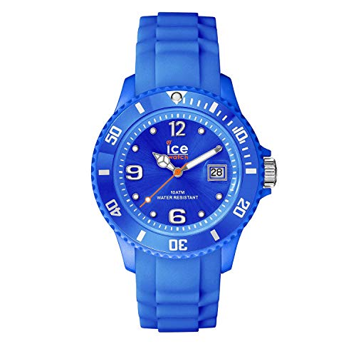 Ice-Watch - ICE forever Blue - Blaue Herrenuhr mit Silikonarmband - 000135 (Medium)