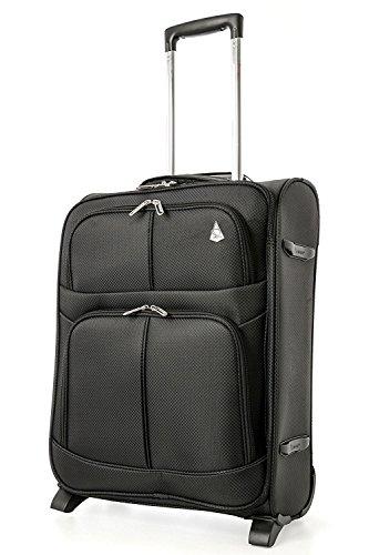 Aerolite 55x40x20 espandibile a 55x40x23 Trolley cabina bagaglio a mano per Ryanair Priority...