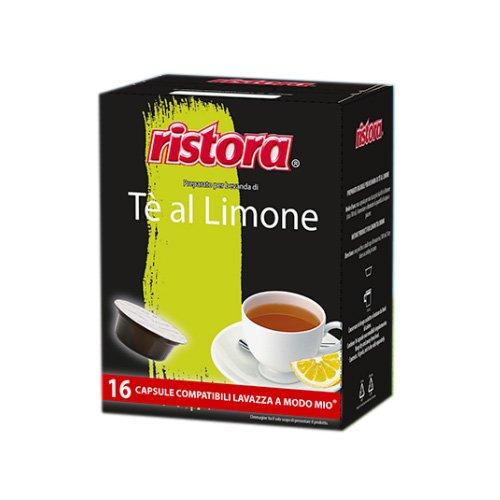 128 capsule Ristora Te al Limone compatibili Lavazza A Modo Mio
