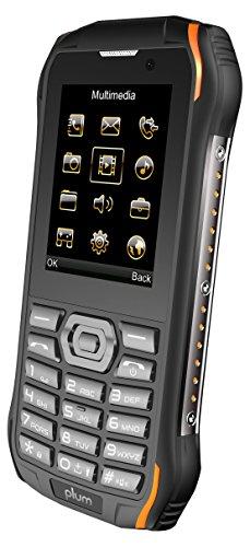 Plum Ram 7-3G Rugged Unlocked Cell Phone GSM - IP68 Certified Military Grade Water Shock Proof ATT Tmobile Cricket Metro Mint Net10 Straight Talk Walmart Mobile Consumer Cellular