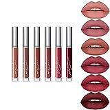 Subsky 6 Couleur Set Rouge à Lèvres Liquide Mat Longue Tenue Waterproof...