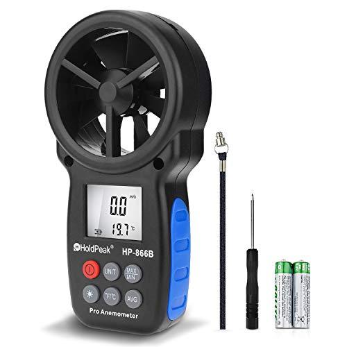 HOLDPEAK 866B Digital Anemometer Handheld Wind...