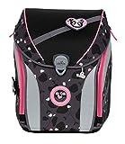 DerDieDas ErgoFlex Max Buttons - Set de mochila y accesorios escolares (5 piezas) Rosa Panda talla única