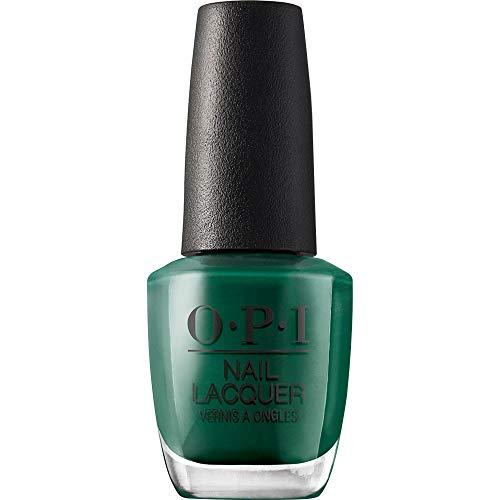 OPI Nail Polish, Nail Lacquer, Stay Off the Lawn, Green Nail Polish, 0.5 Fl oz