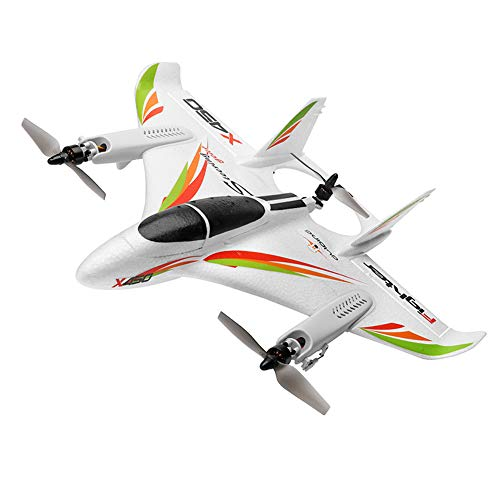 OUYAWEI WLtoys RC Toys XK X450 6-Way Brushless Vertical Takeoff / Landing Fixed-Wing Airplane Aircraft
