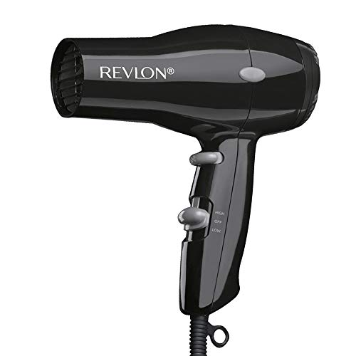 Revlon 1875W Compact And Lightweight Hair Dryer, Black