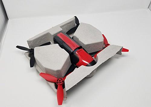 Parrot Bebop 2 Drone Full HD 1080P, 14 Mpx, 60 Km / h, 25 minuti di volo, Rosso