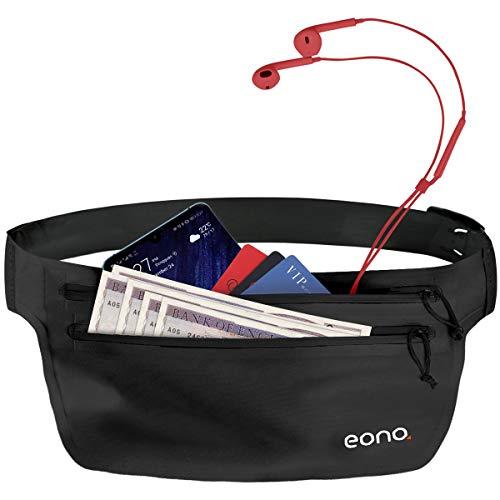 Eono by Amazon - Ceinture de Course étanche à Grande capacité avec...