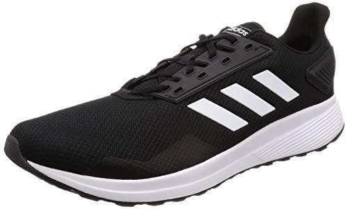 adidas Duramo 9, Scarpe da Fitness Uomo, Nero (Negbás/Ftwbla/Negbás 000), 46 EU