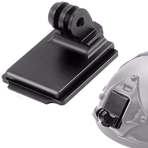 Honbobo NVG Staffa Base Supporto fisso in alluminio Per GOPRO Hero 9 8 /6/5/4 Yi per Insta360 ONE R