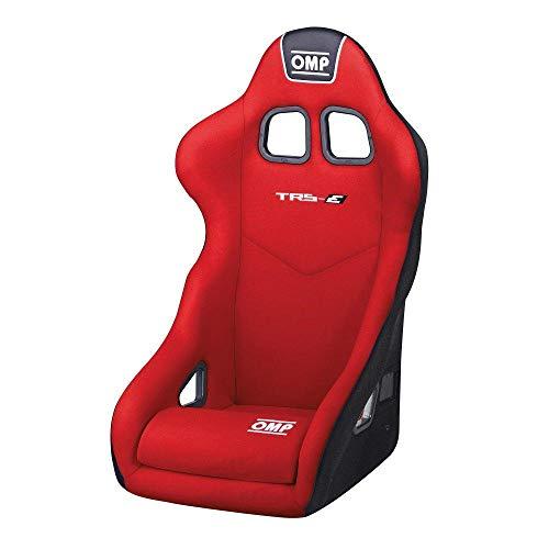 OMP OMPHA/741E/R Asiento para Racing, Rojo