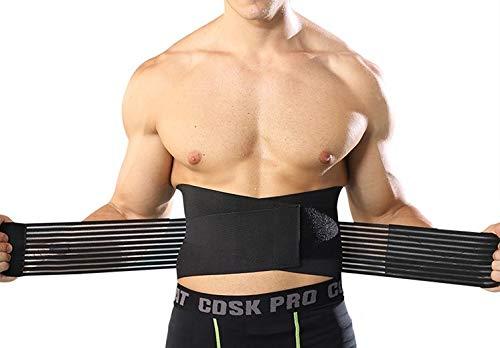 Supporto elastico schiena, fascia lombare supporto schiena, bustino posturale, bustino ortopedico sollievo ernia del disco, allevia il dolore. misura unica regolabile dalla S alla XL
