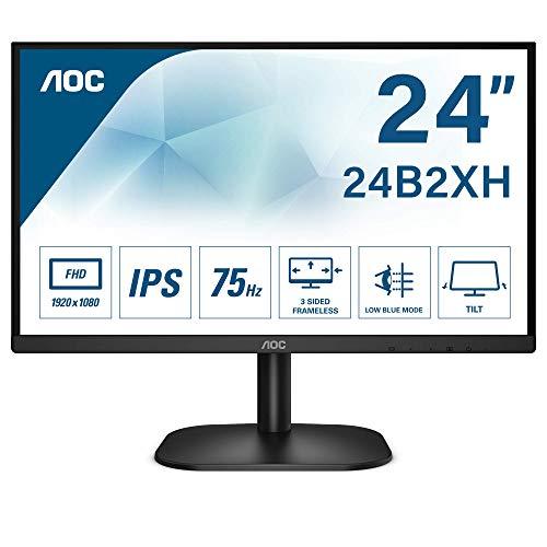 AOC 24B2XH - 24 Zoll FHD Monitor (1920x1080, 75 Hz, VGA, HDMI) schwarz