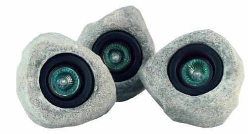 Pontec 36972 Unterwasser-Felsleuchten PondoStar Set 30 | Halogenspot | Unterwasserbeleuchtung | Unterwasserscheinwerfer | Teichbeleuchtung